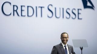 Die Credit Suisse weist einen Gewinn von 244 Millionen Franken aus. Das stärkt Thiam und seiner Strategie vorerst den Rücken.