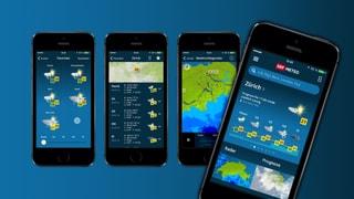 SRF METEO App: 400'000 Downloads!