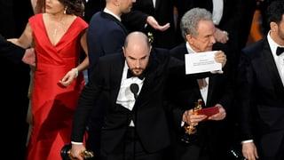 Verwirrung total – falscher Film als Gewinner ausgerufen