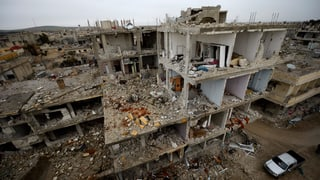 Vier Monate des Krieges: Das bleibt von Kobane übrig