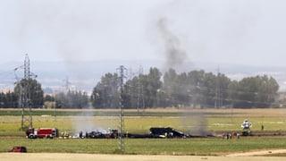 Airbus A400M abgestürzt: Vier Tote, zwei Überlebende