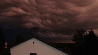 Millionen-Schaden im Limmattal nach Unwetter