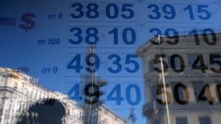 Entwerten die Sanktionen den Rubel?