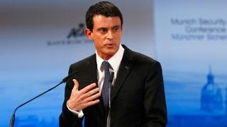 Valls: «Wir nehmen 30'000 Flüchtlinge – aber nicht mehr»