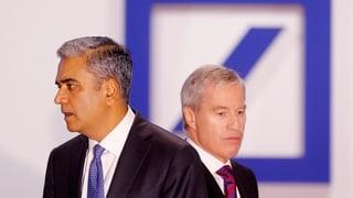 Fitschen e Jain bandunan la Deutsche Bank