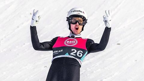 243 Meter! Ammann springt Schweizer Rekord (Artikel enthält Video)