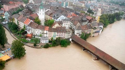 Solothurner investieren 28 Millionen in Hochwasserschutz