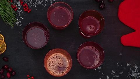 Preiselbeer-Punsch - der Rezept-Tipp der Web-Redaktion (Artikel enthält Video)