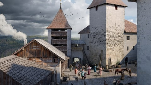 Die Herrschaften von und zu Kyburg (Artikel enthält Audio)