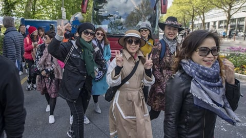 4000 Touristen aus China in Luzern – der satirische Liveticker