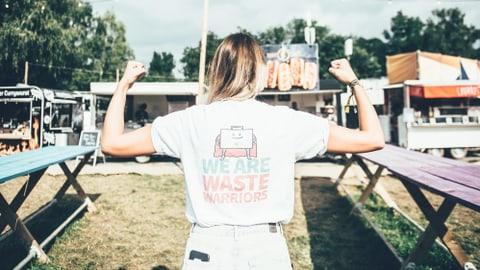 Kampf gegen Food Waste am Zürich Openair