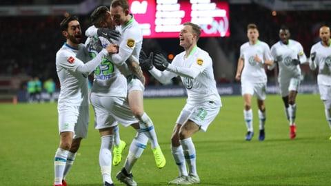Ginczek führt Wolfsburg zu Sieg in Nürnberg (Artikel enthält Audio)