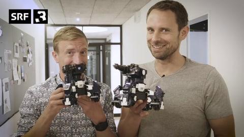 Kindheitsträume: Der Kampfroboter für zu Hause (Artikel enthält Video)