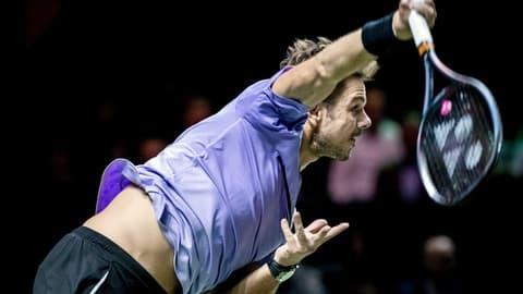 Wawrinka im Rotterdam-Halbfinal und den Top 50 (Artikel enthält Audio)