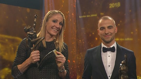 Ryf und Schurter sind die Sportler des Jahres (Artikel enthält Video)