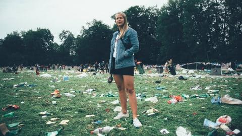 Nicht schon wieder: Abfallchaos bevor das Festival begonnen hat (Artikel enthält Bildergalerie)