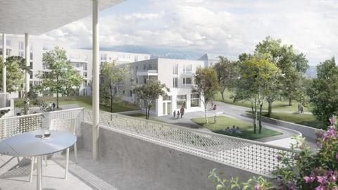 Ja zur Wohnsiedlung Kronenwiese und Schule Blumenfeld
