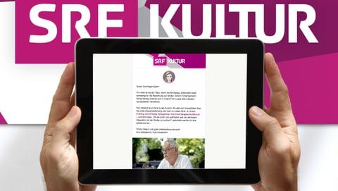 Abonniere den Newsletter von SRF Kultur!