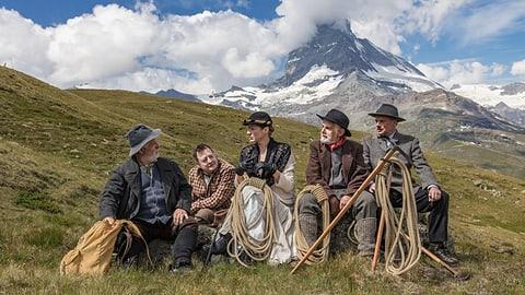 Frau erobert das Matterhorn (Artikel enthält Audio)