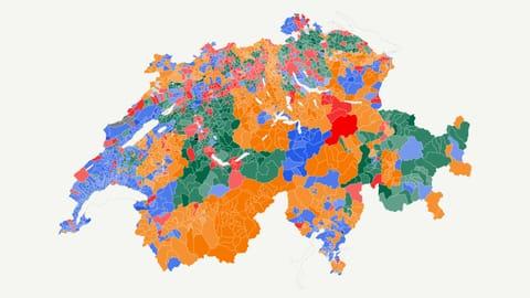So haben die Schweizer Gemeinden seit 1971 gewählt