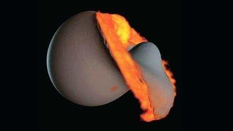 Rätseln über die Geburt des Mondes (Artikel enthält Bildergalerie)