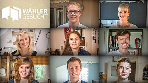Wähler gesucht oder: Jungpolitiker auf dem Weg zur ersten Stimme