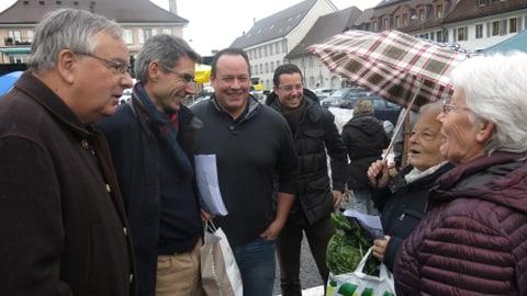 Staatsrats-Kandidaten in Freiburg: «geht wählen!» (Artikel enthält Bildergalerie)