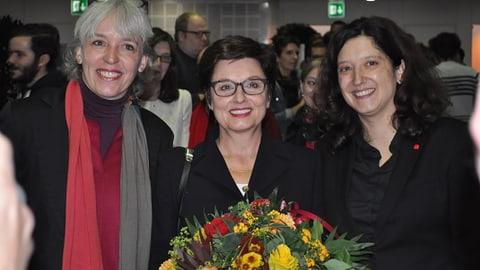 Basel-Stadt schickt Anita Fetz zum vierten Mal in den Ständerat (Artikel enthält Bildergalerie)