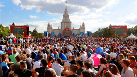 Gastgeber Russland als grosser Sieger (Artikel enthält Video)