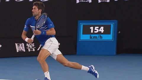 Djokovic holt sich auch den zweiten Satz