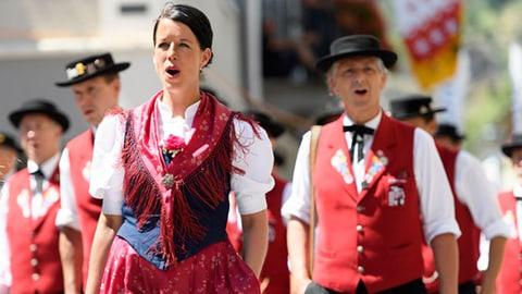 Festumzug Jodlerfest Brig «Potzmusig unterwegs»: Festumzug Eig. Jodlerfest