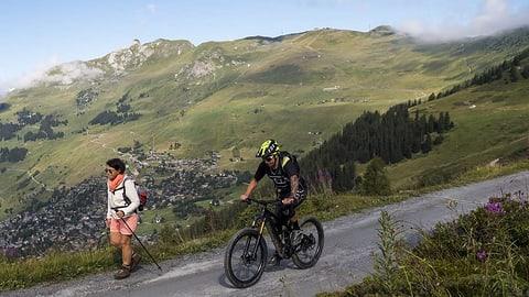 E-Mountainbikes – eine Plage auf den Wanderwegen?