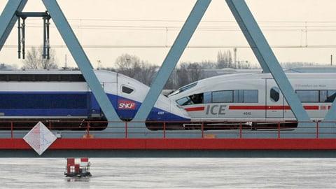Megafusion in der Zugbranche wird zum Prüfstein (Artikel enthält Audio)