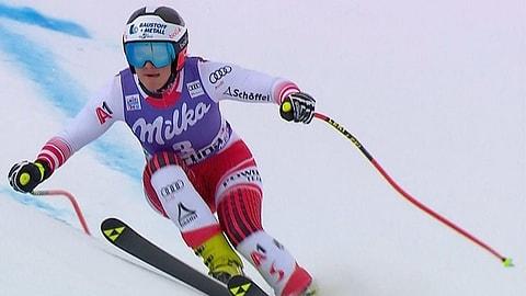 Österreichische Doppelführung in Cortina - Gut-Behrami geschlagen