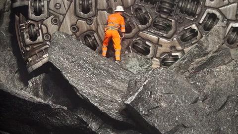 Wie viel Stein wurde aus dem Berg gebrochen? (Artikel enthält Video)