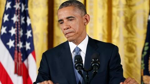 Obama gesteht Niederlage ein (Artikel enthält Video)