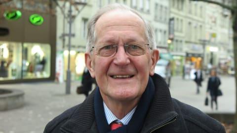 Joseph Deiss: «Ich spaziere nicht, ich marschiere» (Artikel enthält Audio)