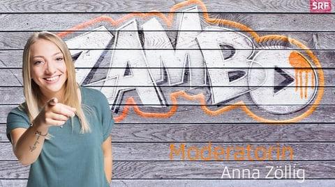 Die «Zambo»-Macher: Moderatorin