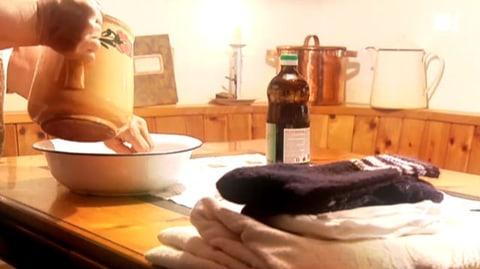 Essigsocken zum Fiebersenken  (Artikel enthält Video)
