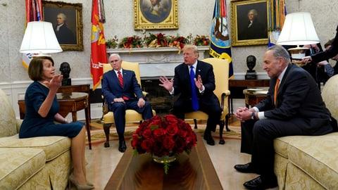 «Niemand will einen Trump-Shutdown» (Artikel enthält Audio)