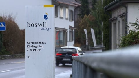 Gemeindeschreiber von Boswil per sofort beurlaubt (Artikel enthält Video)