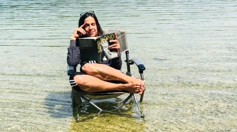 Zwei Wochen, vier Seen und ein Buch!