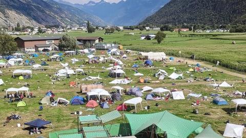 Kampf gegen die Abfallschande an Festivals (Artikel enthält Bildergalerie)
