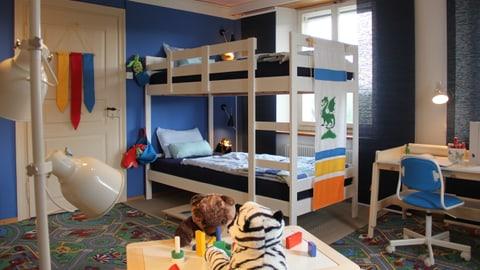 Kinderzimmer mit Tücken