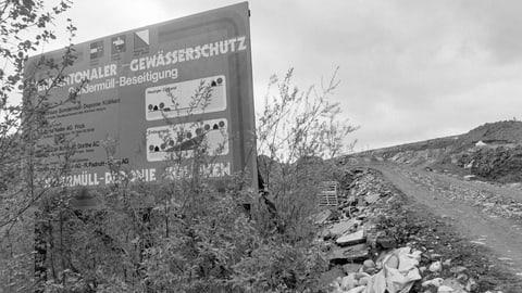 Sondermülldeponie Kölliken – die grösste Altlast der Schweiz (Artikel enthält Audio)