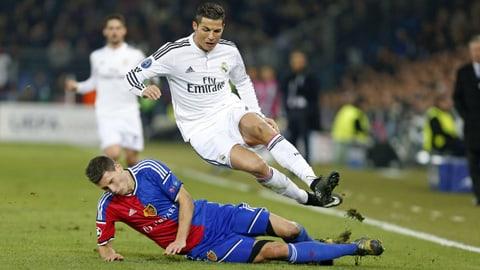 Ronaldo trifft gegen Schweizer Teams nur unterdurchschnittlich (Artikel enthält Video)