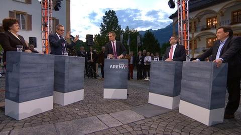 «Wahl-Arena»: «Wir müssen die Wirtschaft integral verstehen» (Artikel enthält Video)