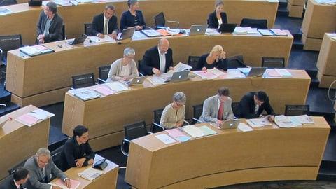 Grosser Rat Aargau: Freuden und Leiden der absoluten Mehrheit (Artikel enthält Audio)