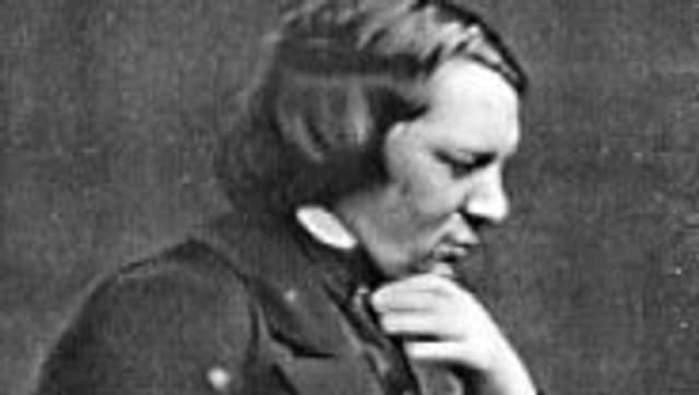 Robert Schumann um 1850.