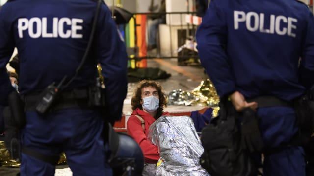 In der Nacht auf Mittwoch hat die Polizei den Bundesplatz geräumt.